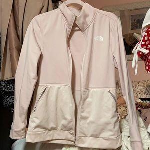 North Face pink light jacket